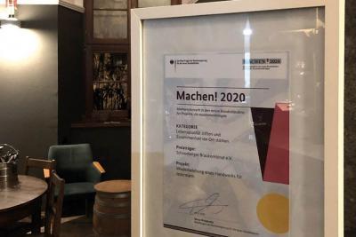 Bild der Meldung: Zwei Schneeberger Vereine räumen bei Bundeswettbewerb ab