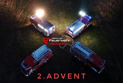 Vorschaubild zur Meldung: Advent Advent der zweite Lichtmast brennt❗