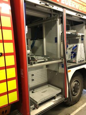 Foto zu Meldung: Netzener Feuerwehr kann wegen eines Einbruchs nicht mehr ausrücken