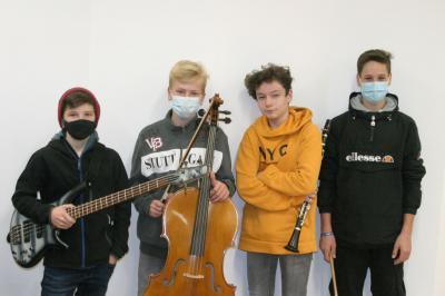 """Unsere Jazzband für """"Jugend jazzt 2021"""" ganz aktuell."""
