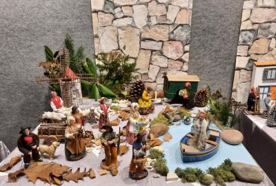 Weihnachtliche Santons-Ausstellung in Elmshorn I Foto: Karl Klapcia
