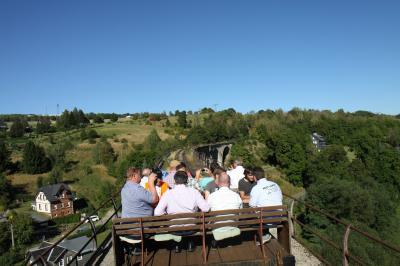 Vorschaubild zur Meldung: Arbeitsgespräche zur Wiederinbetriebnahme der stillgelegten Eisenbahnstrecke Probstzella – Ernstthal am Rennsteig