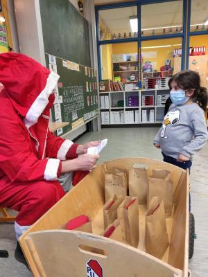 Foto zur Meldung: Besuch vom Nikolaus