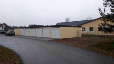 Foto zur Meldung: Die Garagen stehen