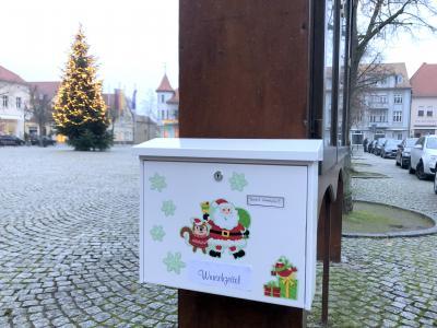 Bild der Meldung: Wunschzettel-Briefkasten am Marktplatz