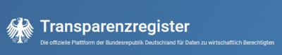 Bildquelle: www.transparenzregister.de