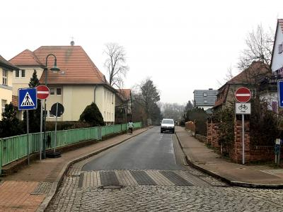 Foto zu Meldung: Drei Lehniner Straßen sind jetzt Einbahnstraßen