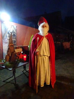 Foto zur Meldung: Nikolaus im Dorf