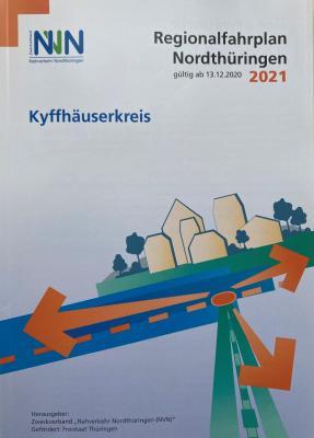 Regionalfahrplan Nordthüringen 2021