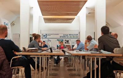 Foto zur Meldung: Wirtschaftsjunioren Börde starten mit neu gewähltem Vorstand ins Jahr 2021