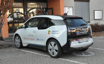 Nach zweijähriger Nutzung wird die Gemeinde das geleaste E-Auto wieder zurückgeben.