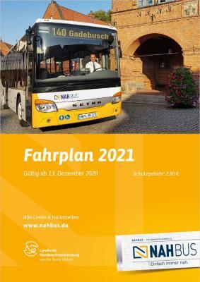 Das neue Fahrplanheft 2021, gültig ab 13. Dezember 2020