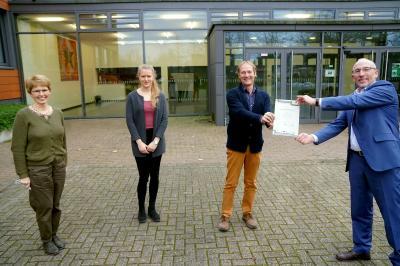 Als Euregio-Profilschule ausgezeichnet