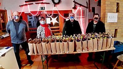 Foto zu Meldung: Weihnachtsaktion für Grebser Senioren