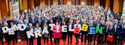 """Foto zur Meldung: """"Demokratie leben!"""" Abschlussbericht der ersten Förderperiode erschienen"""