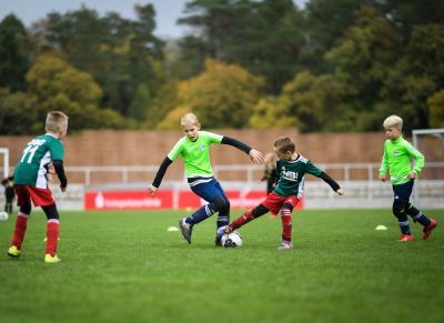 Bild der Meldung: Minitore für den Kinderfußball zu gewinnen
