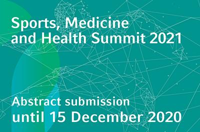 Die Abstract-Einreichung für den Sports, Medicine and Health Summit 2021 endet bald!