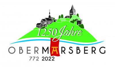 Das Jubiläums-Logo 1250 Jahre Obermarsberg