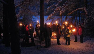 Foto zu Meldung: Weihnachtsgruß des Amtsdirektors