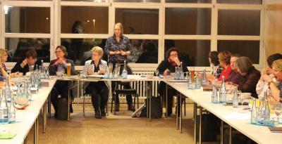 Kreisverbandssitzung im Bleckeder Haus
