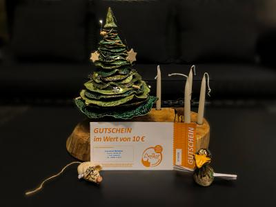 Foto zur Meldung: Beeskow Gutschein als Weihnachtsgeschenk