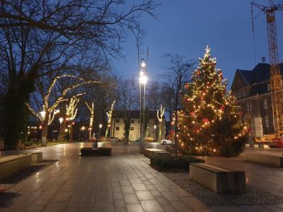 Foto zur Meldung: Weihnachtsbeleuchtung