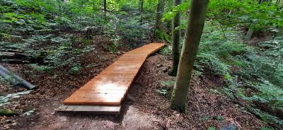 Vorschaubild zur Meldung: Zwei Stützpunkte, eine Aufgabe: Den Thüringer Wald auf Vordermann bringen!