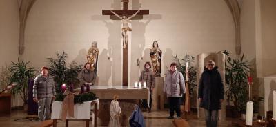 """Foto zur Meldung: Taize-Lichterandacht am 04.12.2020 in der Marktschorgaster Pfarrkirche """"St. Jakobus des Älteren"""""""