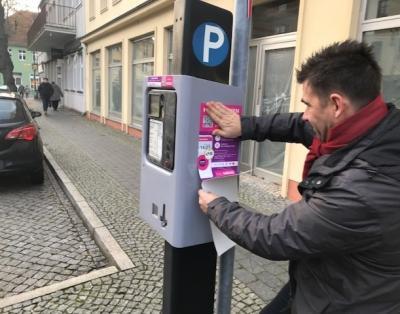Foto zur Meldung: Digitales Parken jetzt auch in Jüterbog