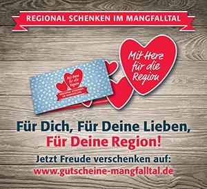 Der Mangfalltaler Gutschein  Regional schenken – und gemeinsam die Region stärken