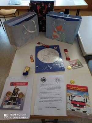 Vorschaubild zur Meldung: Adventskalenderaktion Bambinis der Feuerwehr