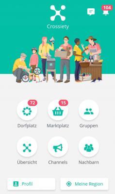 Foto zur Meldung: Bad Dürrheimer Bürgerplattform Crossiety startet am 17.12.2020