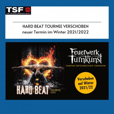 Foto zur Meldung: Feuerwerk der Turnkunst - Hard Beat Tournee verschoben auf Winter 2021/2022