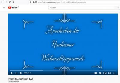 Foto zur Meldung: Video: Pyramidenanschieben 2020