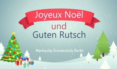 Vorschaubild zur Meldung: Joyeux Noël und Guten Rutsch