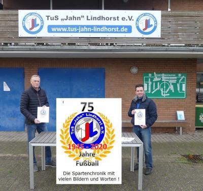 Vorschaubild zur Meldung: Chronik zu 75 Jahren Fußball im TuS Jahn Lindhorst