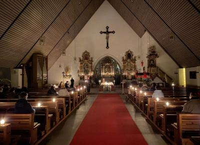 """Bild der Meldung: Friedenslicht aus Bethlehem in Miltach - """"Nacht der Lichte"""" zur Aussendung in der Gemeinde"""