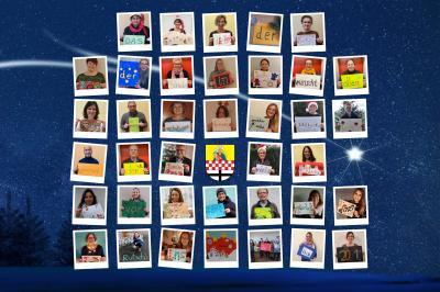 Foto zur Meldung: Weihnachtsgrüße vom gesamten Grundschul-Team