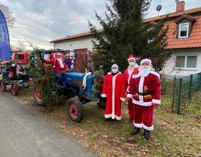 Foto zu Meldung: Weihnachtsüberraschung für Göhlsdorfer und Damsdorfer