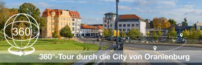 Foto zur Meldung: 360-Grad Tour durch die City