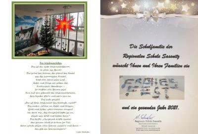 Vorschaubild zur Meldung: Weihnachtsgrüße von unseren Schulen