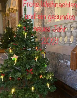 Vorschaubild zur Meldung: Frohe Weihnachten und ein gesundes neues Jahr
