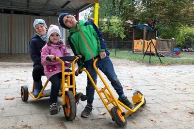 Foto zur Meldung: FV Kita Fuchsbau: Kinderlachen trotz Corona – Rückblick 2020
