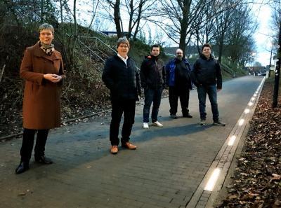 Foto zur Meldung: Mehr Licht in der Gemeindemitte