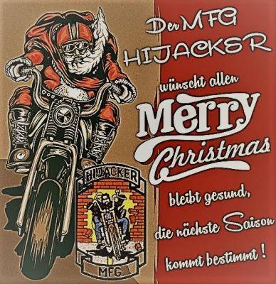 Foto zur Meldung: Weihnachtsgruß der MFG HIJACKER