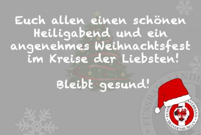 Bild der Meldung: Ein frohes Weihnachtsfest und einen guten Rutsch wünscht der FLB 🎄