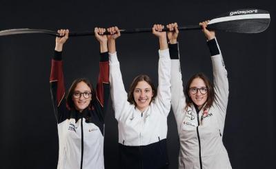 Die Plochmann Schwestern: Annkatrin (Mitte), Antonia und Amelie