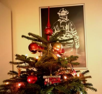 Weihnachtsgruß der Feuerwehr