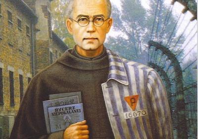 Maximilian Kolbe in Auschwitz