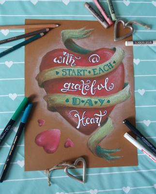 Beginne jeden Tag mit einem dankbaren Herzen!
